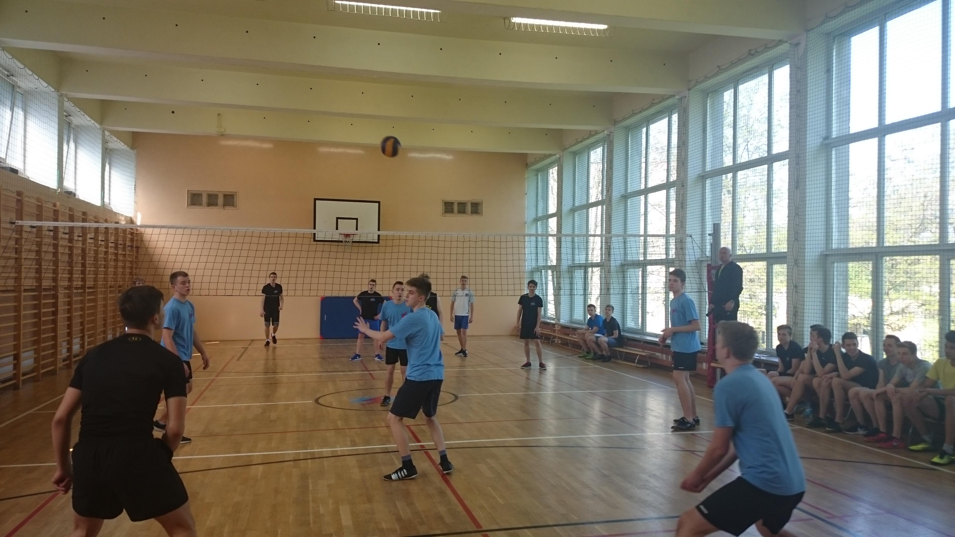 Sport szkolny – siatkówka