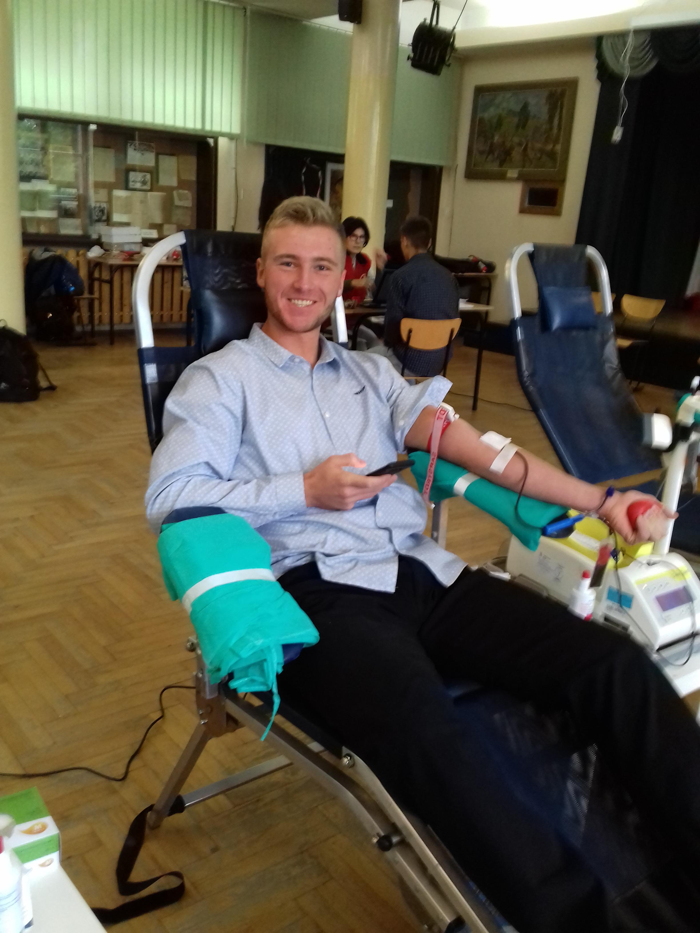 Nie bądź żyła oddaj krew