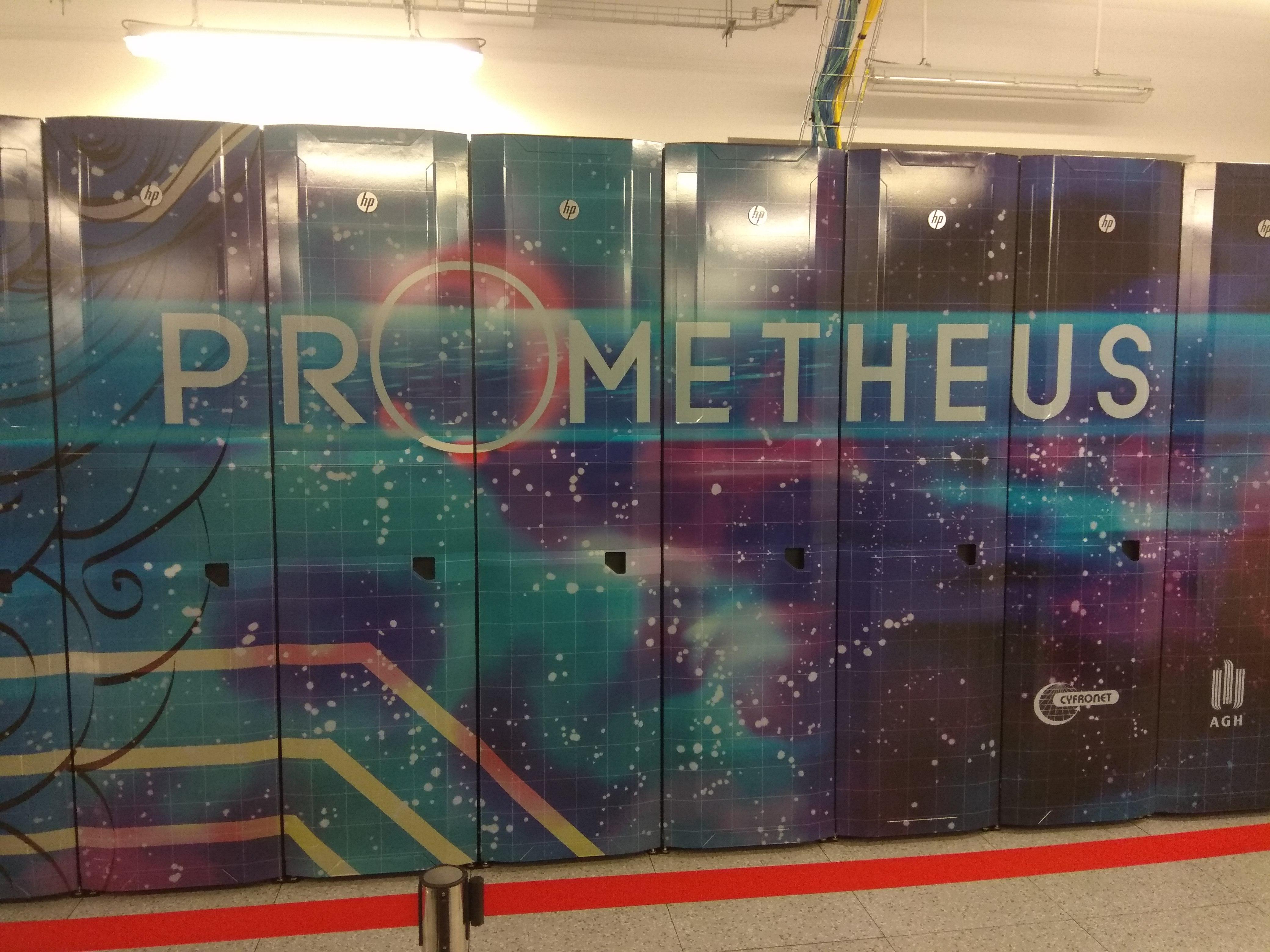 Najszybszy superkomputer w Polsce – wizyta w Cyfronet AGH