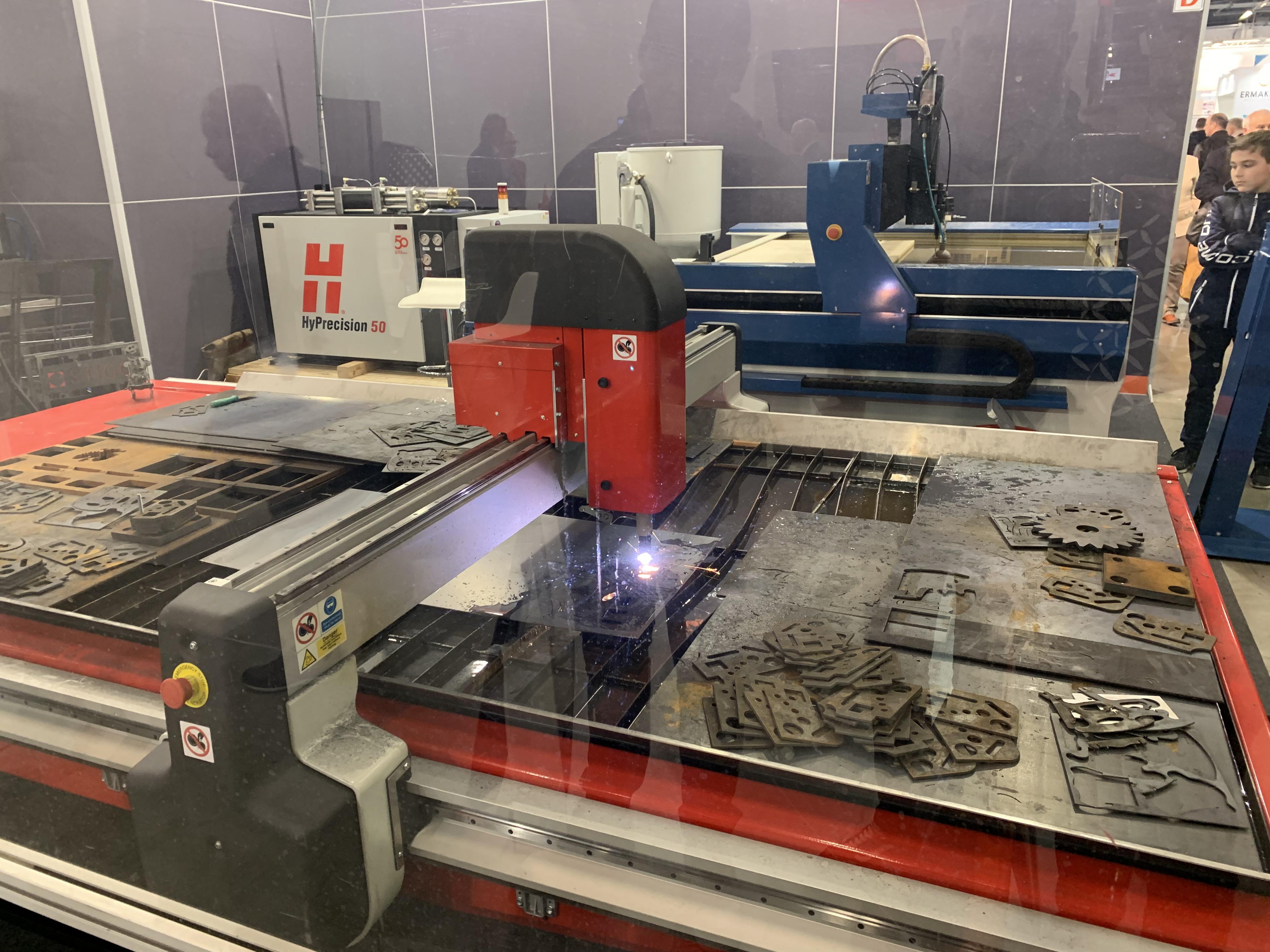 Targi Elektroniki i Automatyki, Tool/Blech&Cutting/Robotics/Laser
